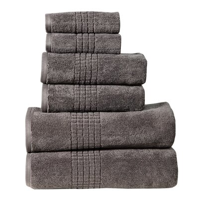 Polywood Mosaic Towel Set Color: Granite