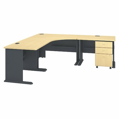 Series A L-Shape Computer Desk