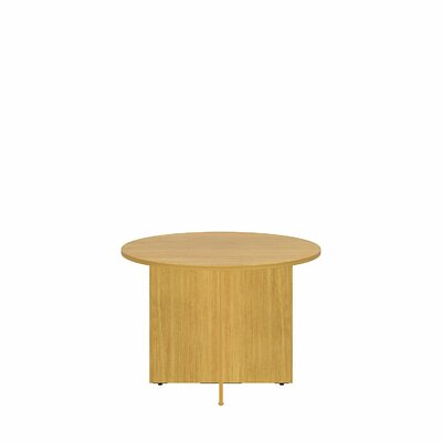 Circular 29.66H x 41.38W x 41.38L Conference Table Finish: Modern Cherry