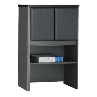 Series A 36.5 H x 24 W Desk Hutch Finish: Slate