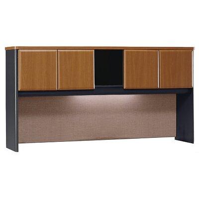 Series A 36.5 H x 71.54 W Desk Hutch Finish: Natural Cherry