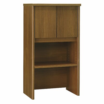 Series C 43.01 H x 23.54 W Desk Hutch Finish: Warm Oak