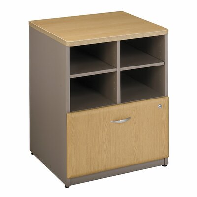 Series A 29.803 x 23.54 W Desk File Pedestal Finish: Danish Oak / Sage