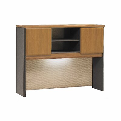 Series A 36.5 H x 47.52 W Desk Hutch Finish: Natural Cherry