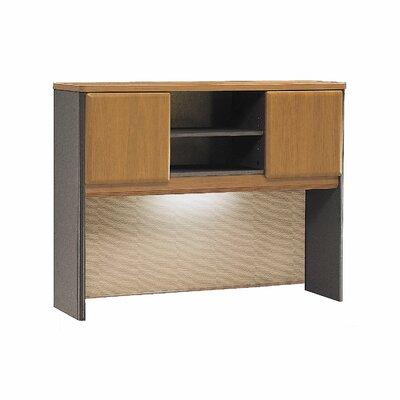 Series A 36.5 H x 47.52 W Desk Hutch Finish: Natural Cherry
