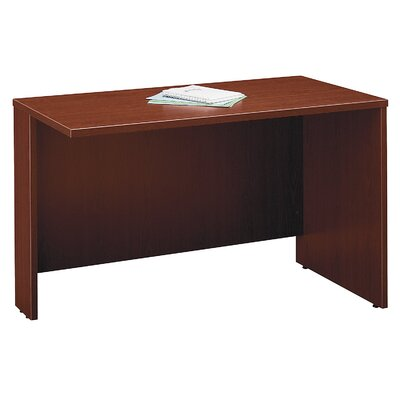 Series C 29.875 H x 48 W Left Desk Return Finish: Mahogany