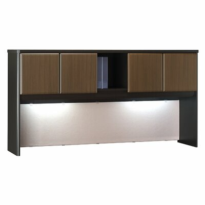 Series A 36.5 H x 71.54 W Desk Hutch Finish: Cappucino Cherry/Hazelnut Brown