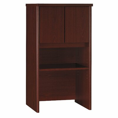 Series C 43.01 H x 23.54 W Desk Hutch Finish: Mahogany