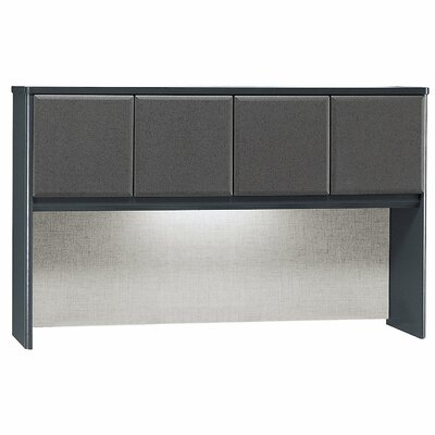 Series A 36.52 H x 59.57 W Desk Hutch Finish: White Spectrum