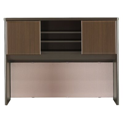 Series A 36.5 H x 47.52 W Desk Hutch Finish: Cappucino Cherry/Hazelnut Brown