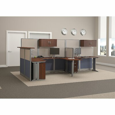Office in an Hour 0.98 H x 63.78 W Desk Shelf