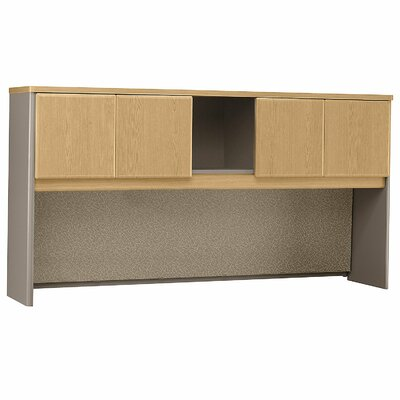 Series A 36.5 H x 71.54 W Desk Hutch Finish: Danish Oak/Sage
