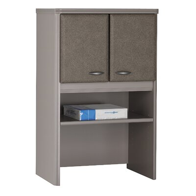 Series A 36.5 H x 24 W Desk Hutch Finish: Pewter