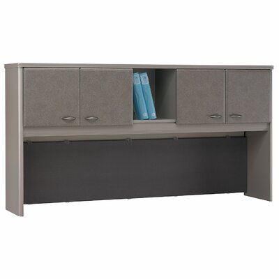 Series A 36.5 H x 71.54 W Desk Hutch Finish: Pewter
