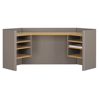 Series A 24 H x 41 W Desk Hutch Finish: Danish Oak/Sage