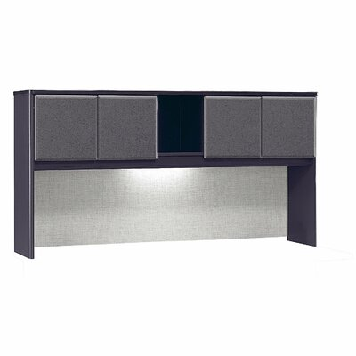 Series A 36.5 H x 71.54 W Desk Hutch Finish: Slate