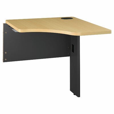 Series A 29.8 H x 29.45 W Desk Peninsula Finish: Beech