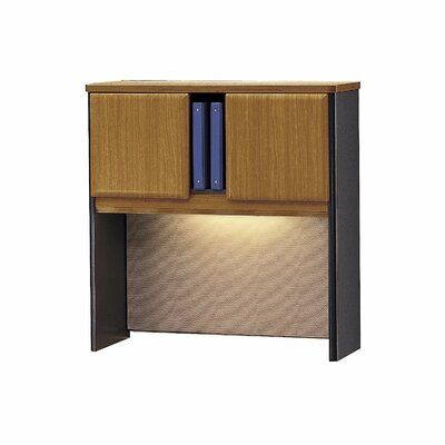 Series A 36.5 H x 35.5 W Desk Hutch Finish: Natural Cherry