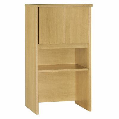 Series C 43.01 H x 23.54 W Desk Hutch Finish: Light Oak