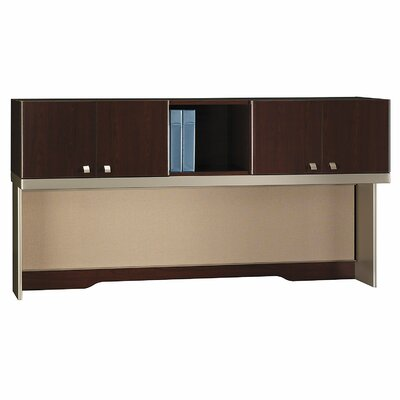 Quantum 37 H x 72 W Desk Hutch Finish: Harvest Cherry