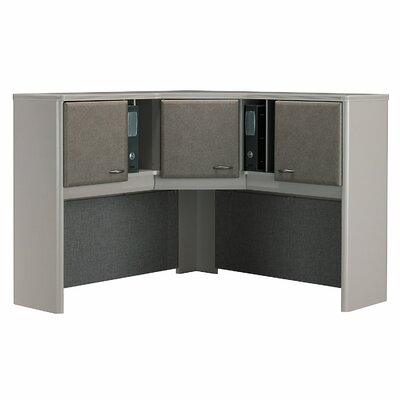 Series A 36.5 H x 47.17 W Desk Hutch Finish: Pewter