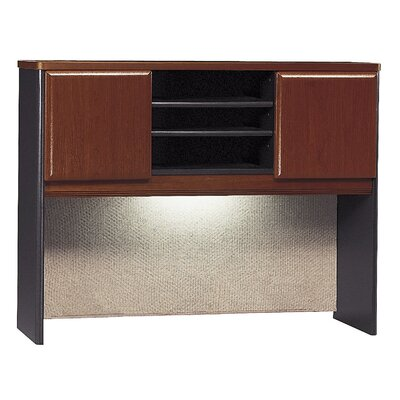 Series A 36.5 H x 47.52 W Desk Hutch Finish: Hansen Cherry