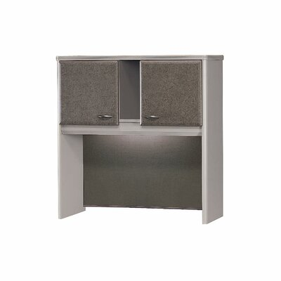 Series A 36.5 H x 35.5 W Desk Hutch Finish: Pewter