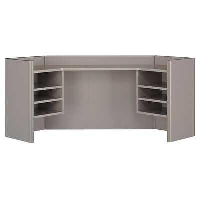 Series A 24 H x 41 W Desk Hutch Finish: Pewter