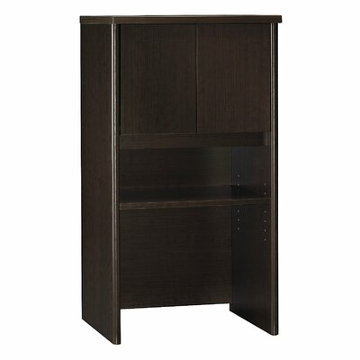 Series C 43.01 H x 23.54 W Desk Hutch Finish: Mocha Cherry