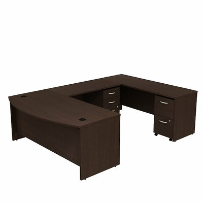 Bow Front U Shape Executive Desk Product Picture 1199