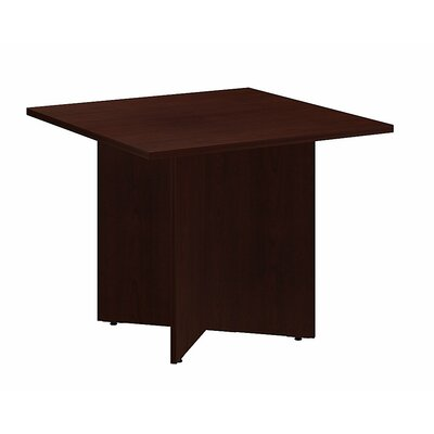 Square 29.66H x 35.79W x 35.79L Conference Table Finish: Harvest Cherry