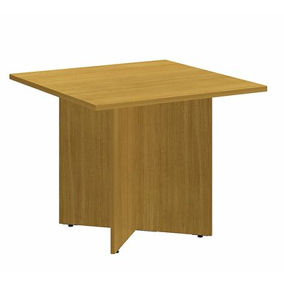 Square 29.66H x 35.79W x 35.79L Conference Table Finish: Modern Cherry