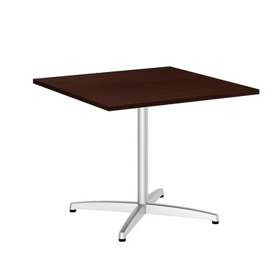 Square 29.66H x 35.79W x 35.79L Conference Table Top Finish: Harvest Cherry