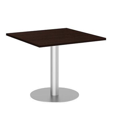 Square 29.66H x 35.79W x 35.79L Conference Table Top Finish: Mocha Cherry