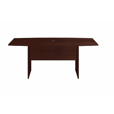 6 Boat Shaped Conference Table Finish: Harvest Cherry