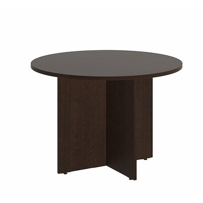 Circular 29.66H x 41.38W x 41.38L Conference Table Finish: Mocha Cherry