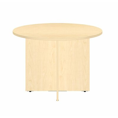 Circular 29.66H x 41.38W x 41.38L Conference Table Finish: Natural Maple