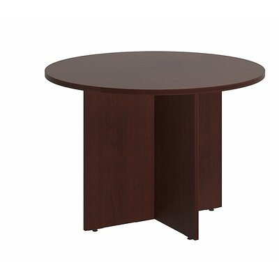 Circular 29.66H x 41.38W x 41.38L Conference Table Finish: Harvest Cherry