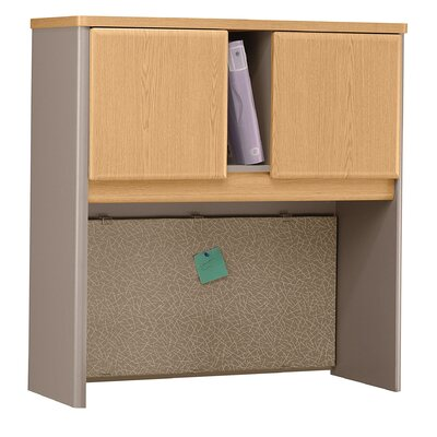 Series A Desk Hutch Danish Oaksage Product Photo