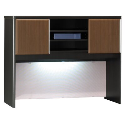 Series A 36.5 H x 47.5 W Desk Hutch Finish: Cappucino Cherry/Hazelnut Brown Product Photo 884