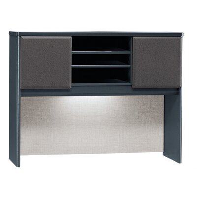Series A 36.5 H x 47.52 W Desk Hutch Finish: Slate