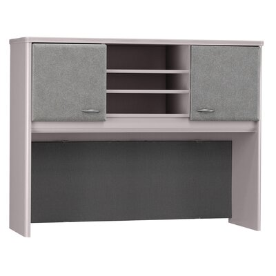 Series A 36.5 H x 47.52 W Desk Hutch Finish: Pewter