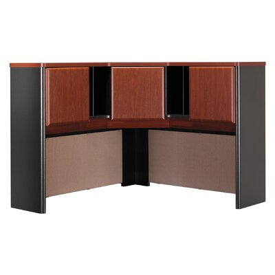 Series A 36.5 H x 47.17 W Desk Hutch Finish: Hansen Cherry