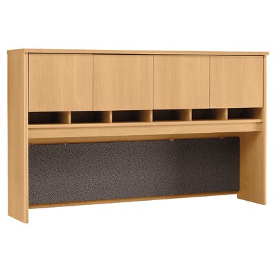 Series C 43 H x 71 W Desk Hutch Finish: Mocha Cherry