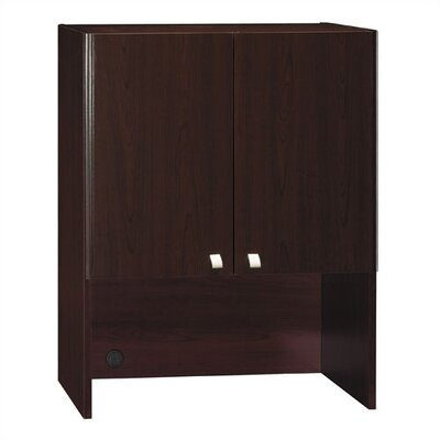Quantum 37.125 H x 28.875 W Desk Hutch Finish: Harvest Cherry