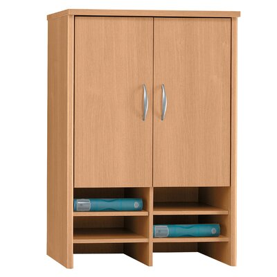 Series C 43 H x 30 W Desk Hutch Finish: Danish Oak/Sage