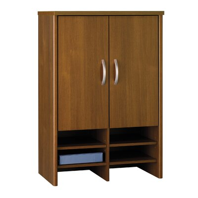 Series C 43 H x 30 W Desk Hutch Finish: Caf� Oak