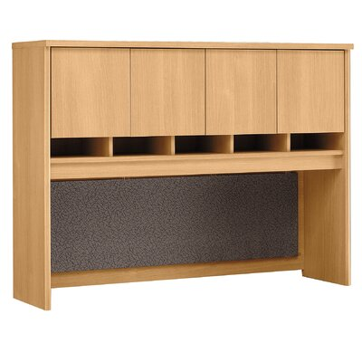 Series C 43 H x 60 W Desk Hutch Finish: Danish Oak/Sage