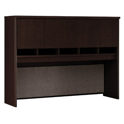Series C 43 H x 60 W Desk Hutch Finish: Mocha Cherry