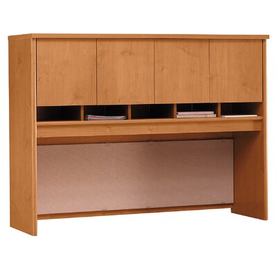 Series C 43 H x 60 W Desk Hutch Finish: Natural Cherry